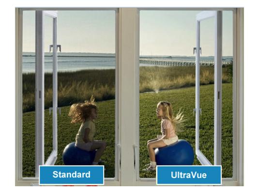 Standard Mesh Vs Phifer Ultravue Screenman Mobile