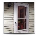 3/4 Lite Storm Door