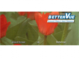 Standard Mesh vs Phifer BetterVue