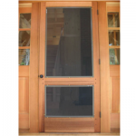 Wood Frame Swinging Door