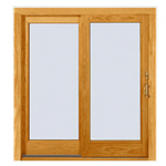 Wood Slide to Open Window