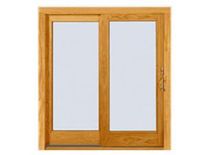 Wood Slide to Open Window